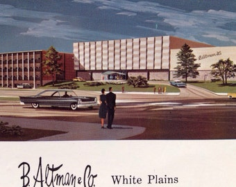 B Altman &Co. White Plains NY Mad Man Style