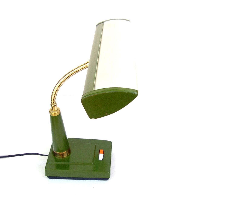 mid century modern desk lamp vintage industrial lighting 1960s. Black Bedroom Furniture Sets. Home Design Ideas