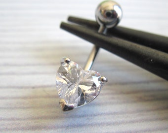 Belly Button Ring - Navel Ring - Belly Ring - Belly Button Jewelry - Navel Jewelry - Body Piercing - Navel Pierceing - Crystal Belly Ring
