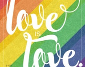 Love is Love printable - FREE DOWNLOAD