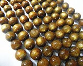 Natural Golden Coral 6mm/8mm/10mm Round beads Genuine Strand Semiprecious Gemstone 15'', 38 cm- 15''L Jewelry Supply Wholesale Beads