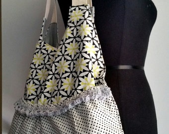 Gypsy shoulder bag purse,cotton
