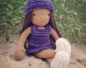 Charlie a 16 in Waldorf Inspired Doll