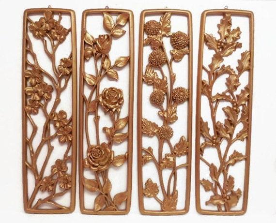 Syroco Plaque Set: Four Seasons