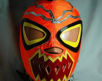Radioactive Wrestling Lucha Libre Mask Mardi Gras Halloween Party masquerade luchador mexicano mask