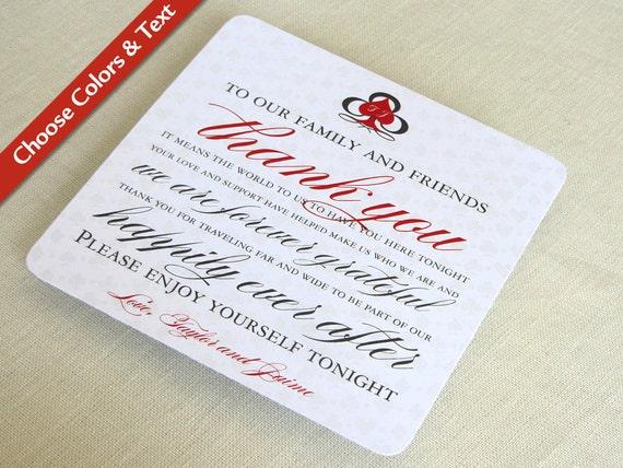 Las Vegas Wedding Thank You Card Casino Destination – Destination Wedding Thank You Card Wording
