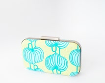 bridesmaid gift, bridesmaid clutch, mint weddings, mint bridesmaid, aqua bridesmaid, aqua wedding, aqua clutch, amy butler, wedding gifts