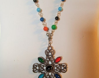 Colorful Celtic Cross