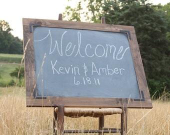 Large Chalkboard Sign Wedding Chalkboard Menu Industrial Chalkboard Barn Wedding Sign Rustic Wedding Sign Seating Chart Chalkboard Wedding