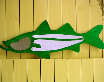 Snook Metal Art Outdoor Metal Wall Art Sculpture Fish Art