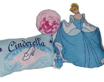 Set of Cinderella Pillows