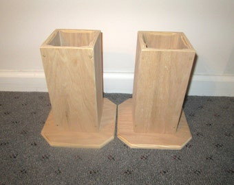 Furniture Risers, 4 Inch All Wood Construction, Unfinished Square Design U2013 Raise  Furniture,