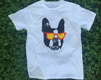 Black sunglasses Shirt / Available in S-M-L-XL-2XL