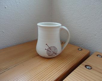 Needle and Yarn Mug