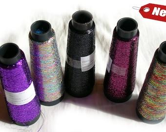 Yarn Lame Glitter Yarn Shine sparkle yarn black color yarn (28) metal yarn lame Lace thread crochet thread embroiderin lace knitting DSH(P4)