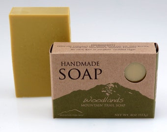 Woodlands - Handmade Vegan Soap - Mountain Trail Soap