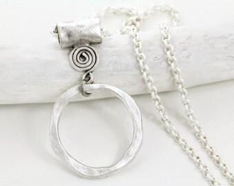 Tribal Silver Eyeglass Lanyard-Eyeglass Chain-Eyeglass Necklace-Glasses Chain-Eye Glass Chain-Eyeglasses Chain-Eyeglass Loop-Eyeglass Holder