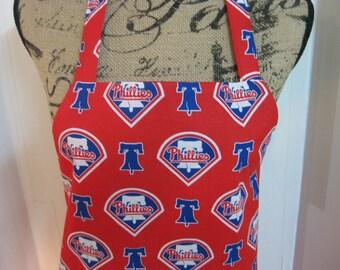 Philadelphia Phillies Baseball Team Adult Apron