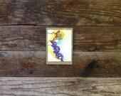 The Siren - Original Watercolor - 4x6 inches