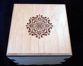 Secret Stash Box Puzzle  - Puzzle Box - Wood Puzzle Box - Stash Box