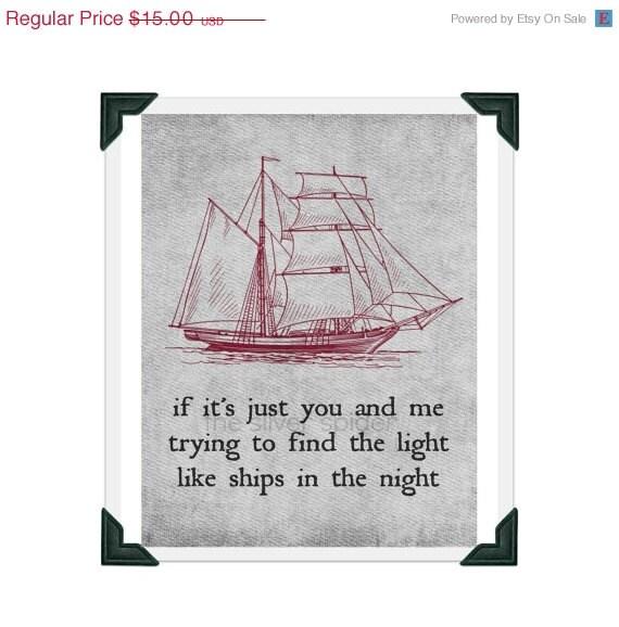 10 Day Sale Like Ships In The Night Mat Kearney