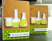 Nerdy Valentine's Day Card, Geeky I Love You Card, Happy Anniversary Card, Chemistry Card, Anniversary Gift for Men