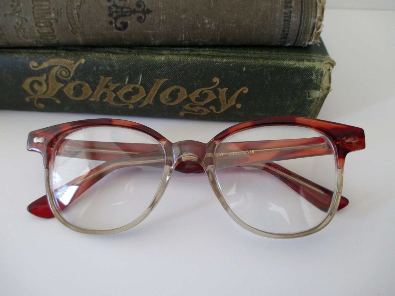 Vintage Tortoise Shell Eyeglass Frames : vintage tortoise shell eyeglasses disguise ready to wear