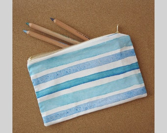 Sky Stripe Zip Bag