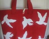 Summer Canvas Beach Tote Bag