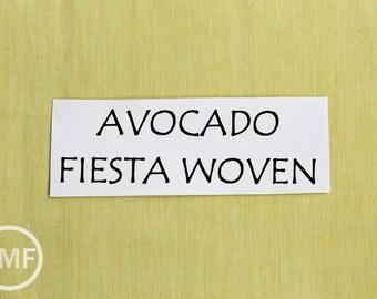 Moda Wovens Fiesta Silky in Avocado, 100% Woven Cotton Fabric, Moda Fabrics, 12130 31