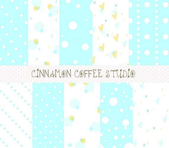 Mint and Gold Digital Papers, Cute Pastel Pink Backrgounds, Blue, Mint, Cute, Mint Texture, Cute Blue Mint Backgrounds