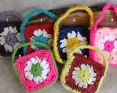 Crochet Gift Bag cozies for candies, teas, coffees, jewelries or soaps+ (choose 1 of 6)