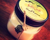 Nag Champa Scented Soy Wax Candle - 8oz Jar - Indian Incense