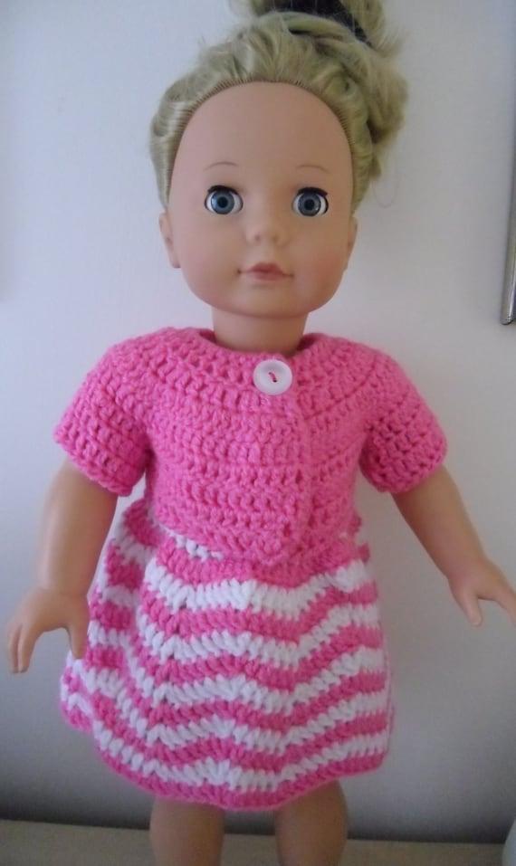Amigurumi Santa Pattern Free : PDF Crochet pattern for dress and jacket for 18 inch American