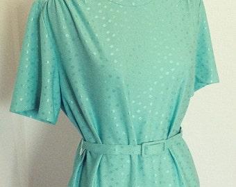 2 Piece Belted Dress