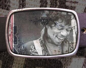 Jimmy Hendrix Belt Buckle, Vintage Inspired 554