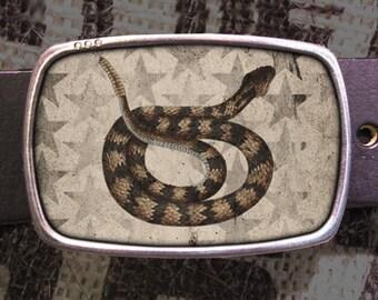 Rattlesnake Belt Buckle 520