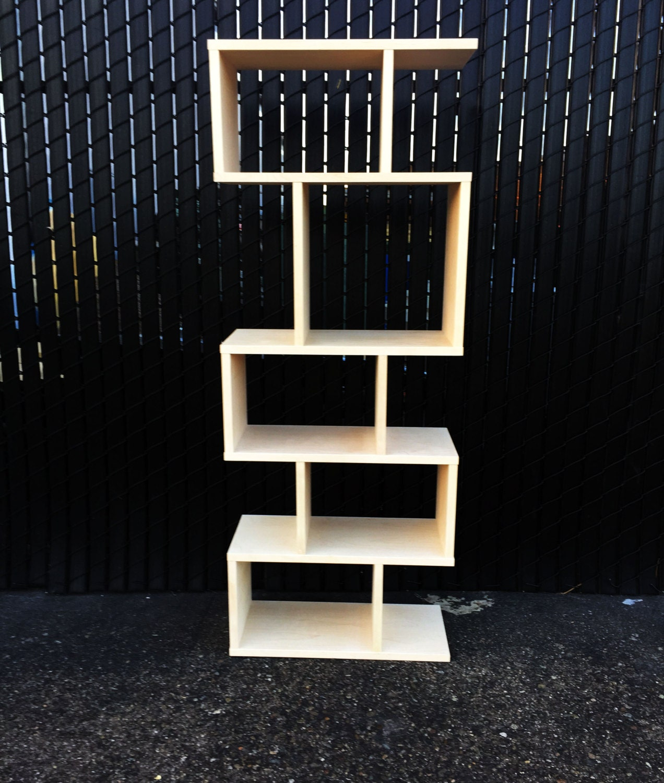 mid century modern bookcase shelf shelving book case. Black Bedroom Furniture Sets. Home Design Ideas