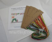 Very Hungry Caterpillar Birth Announcement Cross Stitch Kit