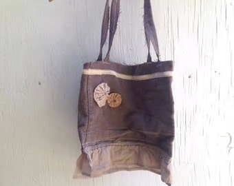 cocoa mocha latte tote lunch book gift tattery anthropologie like MADE TO ORDER wedding bag purse