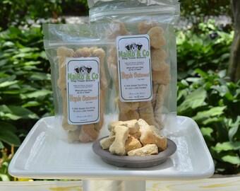 Maple Oatmeal Dog Treats - Mini - 1/2 Lb