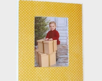 Yellow 9x12 Wall Photo Frame