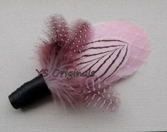 Pink Monroe Boutonniere