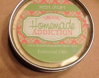Angry Skin, Neem Cream for eczema and psoriasis