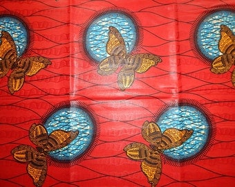 Bazin Holland Wax African Print Fabric - Sold per yard