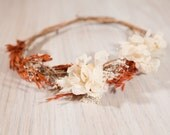 Fall Time Junior Floral Crown