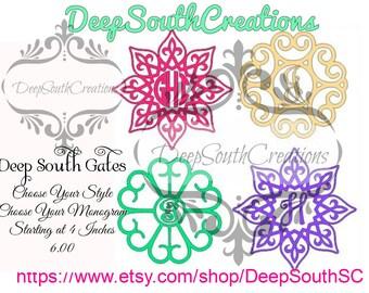 Deep South Gate Monograms