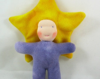 "Star Baby- A ""Little Imp"" Waldorf Inspired Doll"