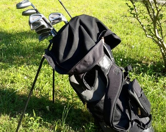 Golf Clubs MacGregor Full Set With Special Putter Tourney Bag With Stand Classic Great Model Gold & Leather Accents Sought After Find