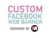 Custom Facebook Web Banner